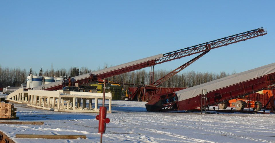 Frac Sand and Container Conveyors