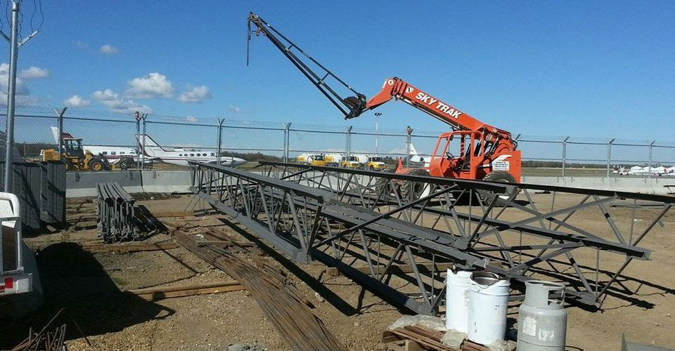 Miscellaneous Structural Steel Jobs at International Airport