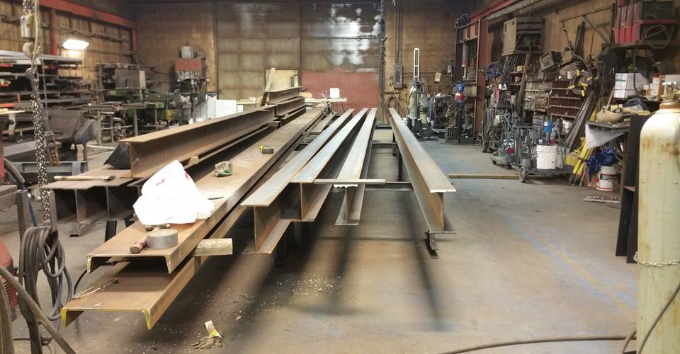 Custom Fabrication / Structural Steel Job, 2015